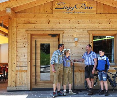 Camping Zögghof mit Bar