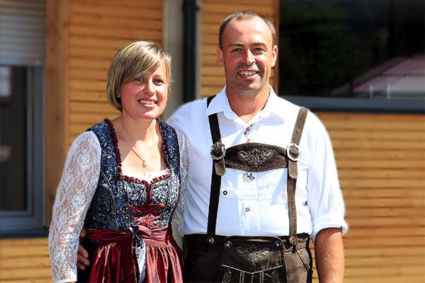 Heidi und Uli Pirpamer, Camping Zögghof Südtirol, St. Leonhard in Passeier