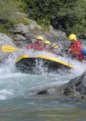 Rafting im Passeiertal